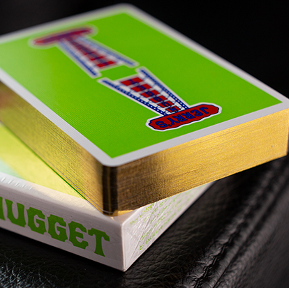 Jerry's Nugget (Vintage Feel - Green/GILDED!)