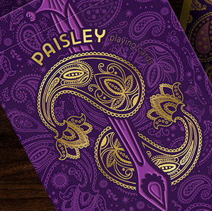 Paisley Royals (Purple/Numbered Seals)