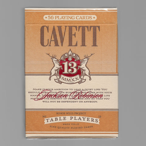 No.13 Table Players Vol. 4 (Cavett)