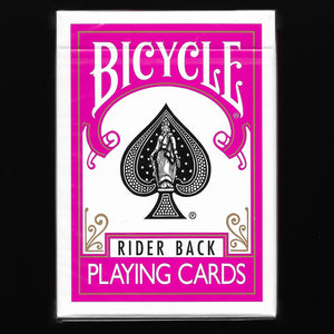 Bicycle Rider Back (Fuchsia)