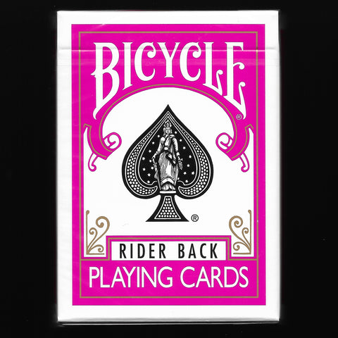 Bicycle Rider Back (Fuschia)