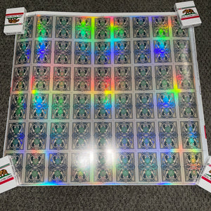 Legal Tender (Holographic V1 UNCUT SHEET!!  #44/50) [AUCTION]