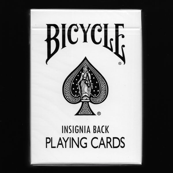 Bicycle Insignia Back (White)