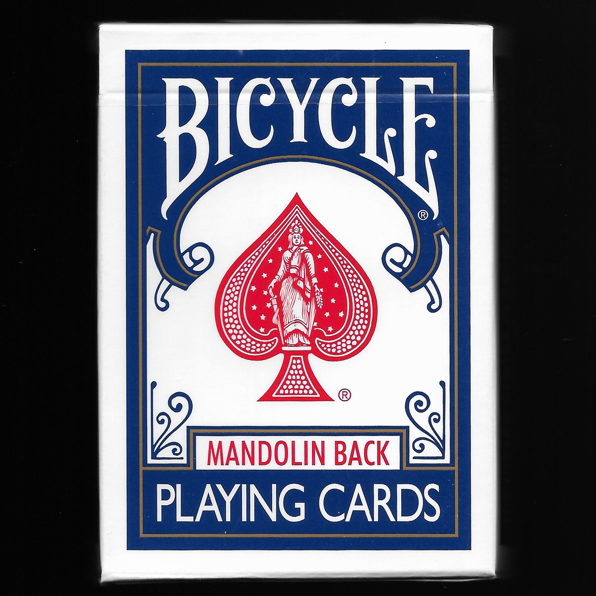 Bicycle Mandolin Back (Blue)