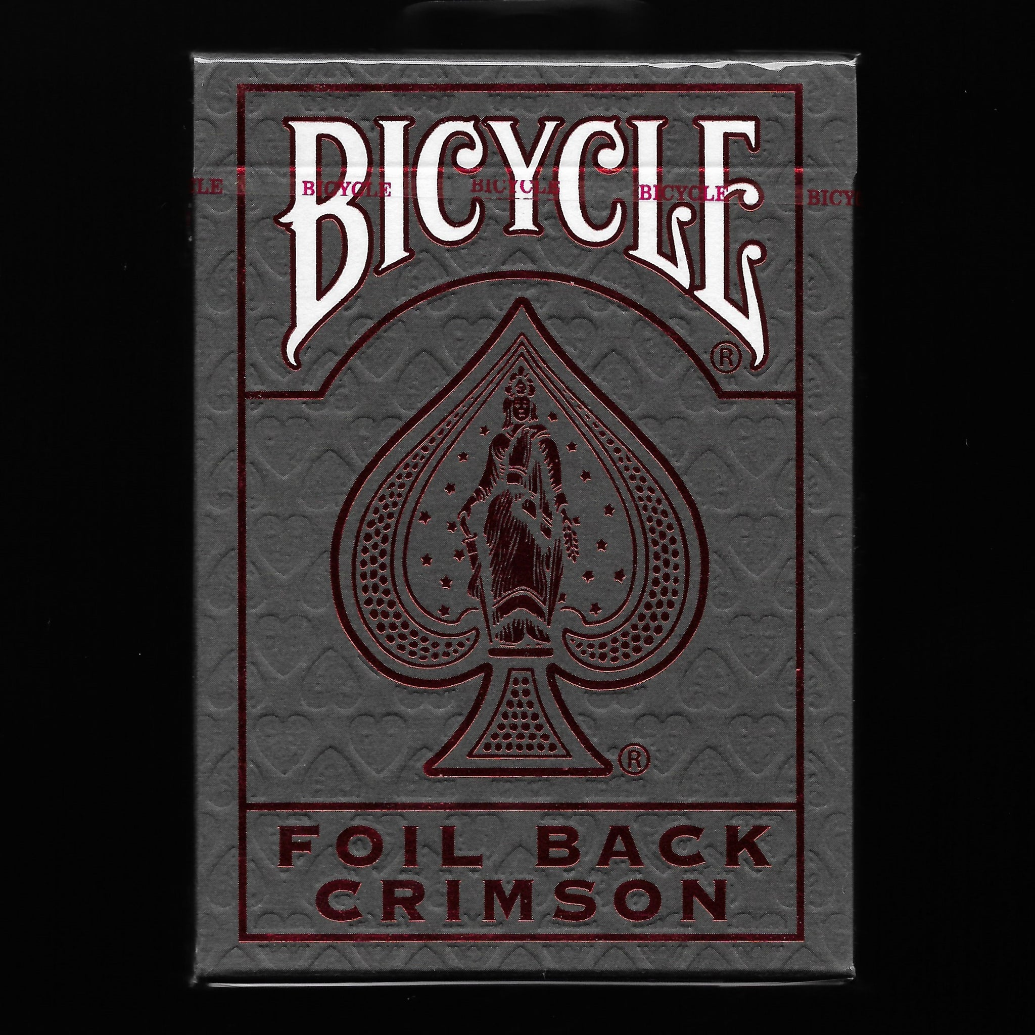 Bicycle Crimson Luxe (Red) V2 [MORE ARRIVING 7/9]