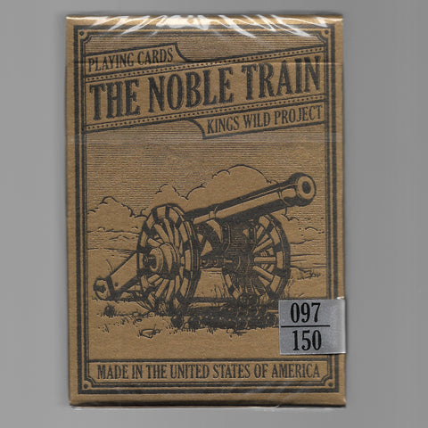 Noble Train [Shorts Deck/GILDED Edition, #97/150]