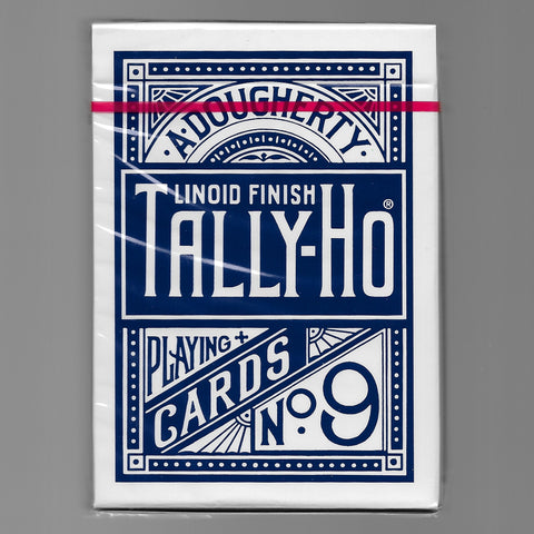 Tally Ho (Fan Back/Blue/THIN CRUSHED)