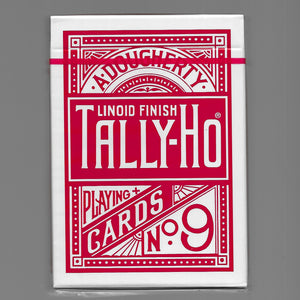 Tally Ho (Fan Back/Red/THIN CRUSHED)