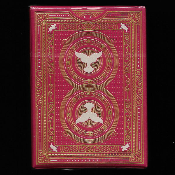 The Conjurer Playing Cards (Red) [MORE ARRIVING 4/1]