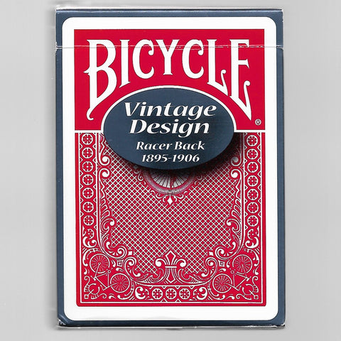 Bicycle Vintage Design - Racer Back [OPENED/DECK LIKE NEW]