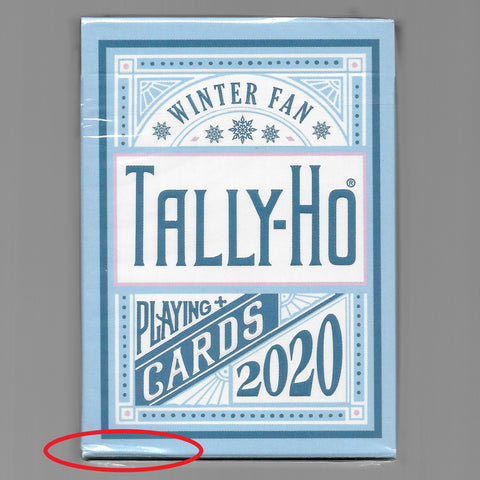 Tally-Ho (Winter Fan) [SEALED/EDGE FOLDS]