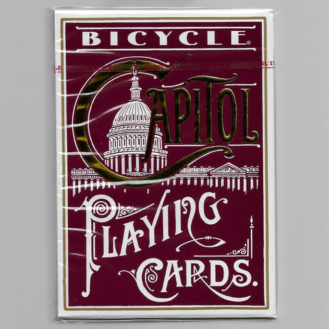 Bicycle Capitol (RED) [MORE ARRIVING 10/22]