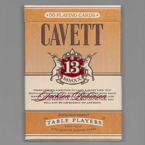 Table Players Vol. 4 (Cavett) [OPENED/DECK LIKE NEW]