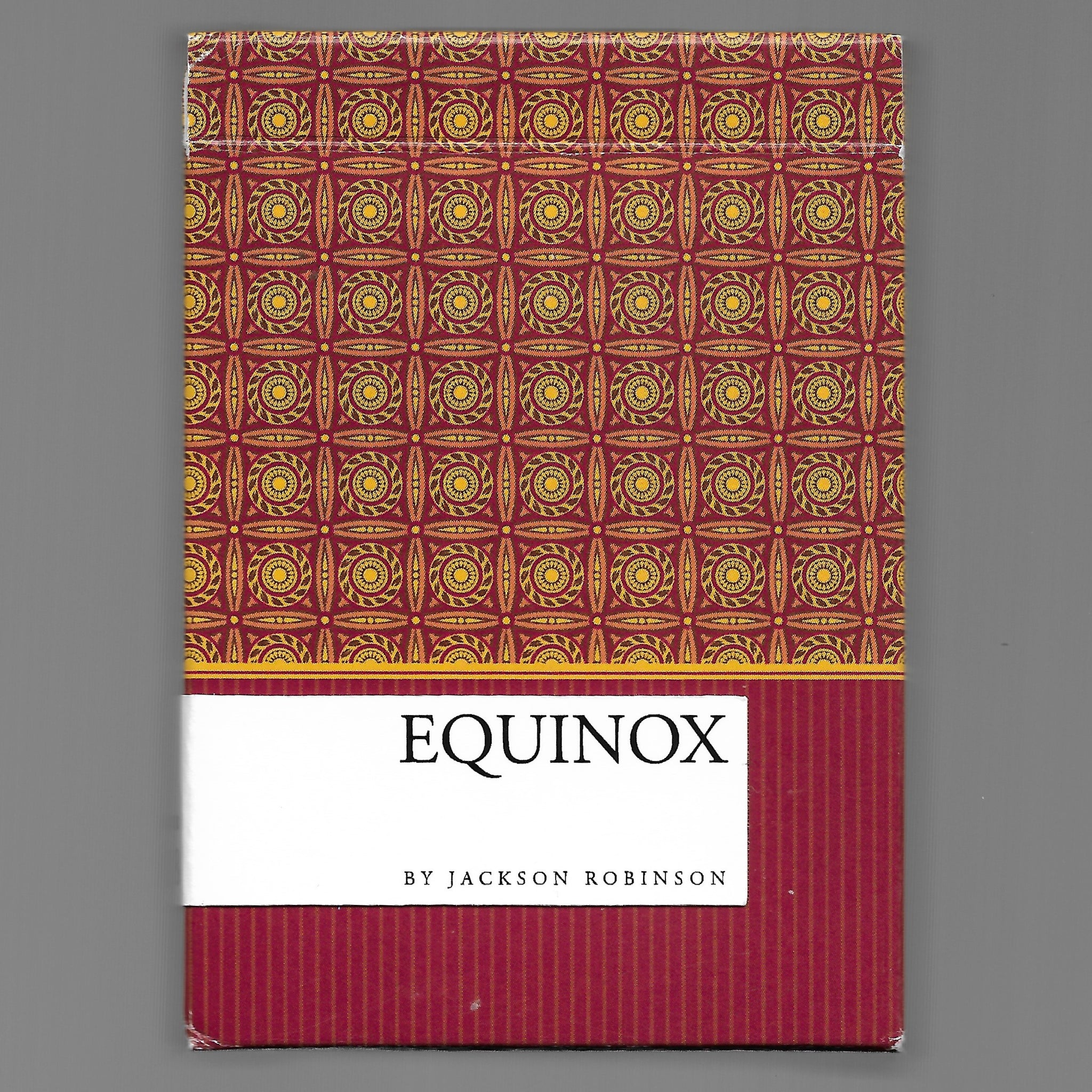 Equinox (Sep. 2018/ARTIST PROOF PROTOTYPE!!!)