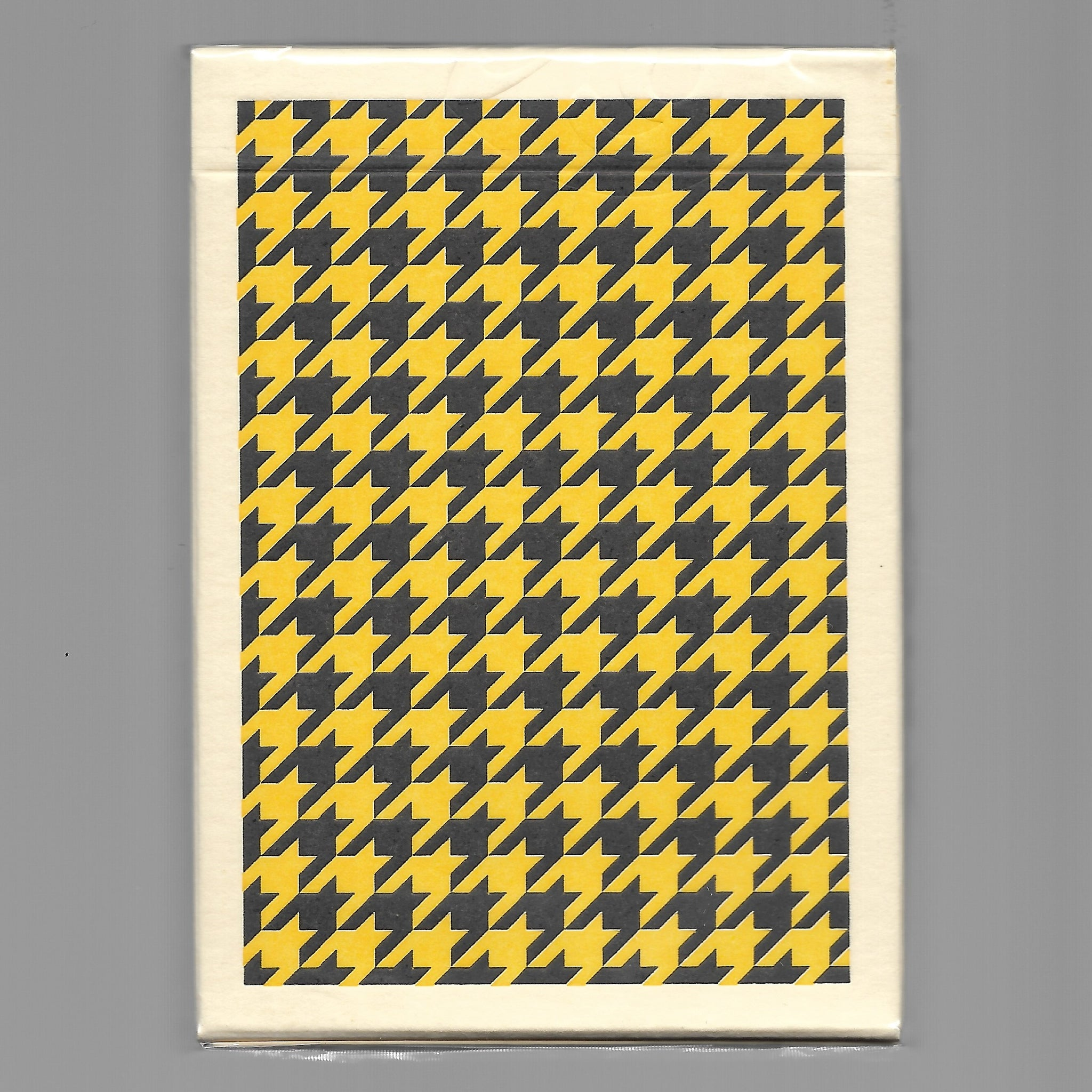 Houndstooth (Yellow)