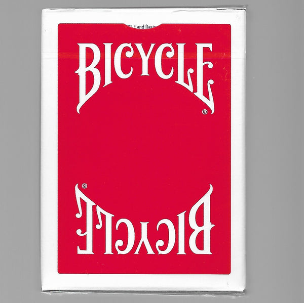 Bicycle Insignia Back (Red)