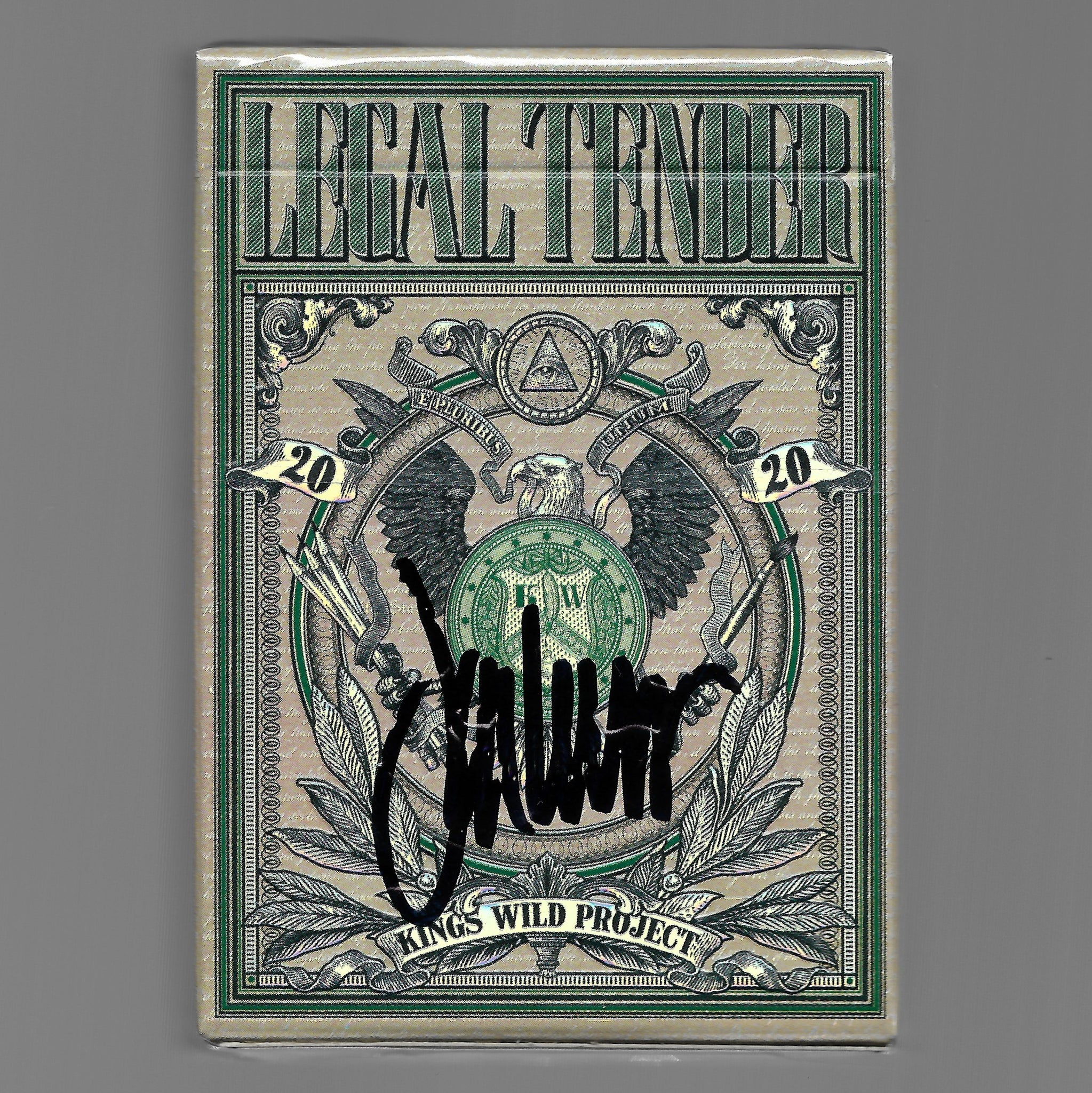 Legal Tender (Gilded Holo Signed Edition) [AUCTION]