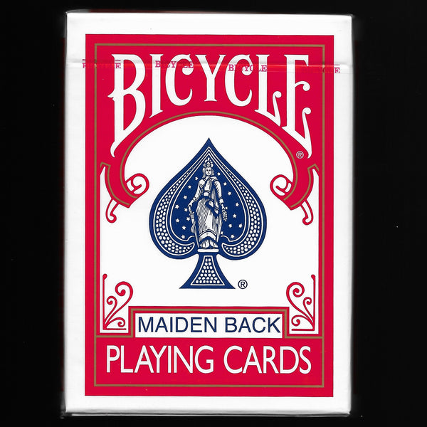 Bicycle Maiden Back (Red)