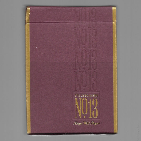 No.13 Table Players Vol. 1 [OPENED/CARDS LIKE NEW]