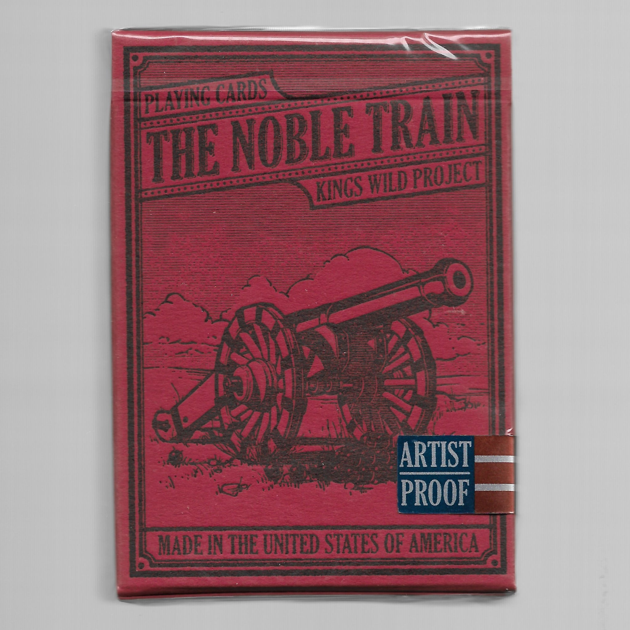 The Noble Train (Shorts Deck - Limited - ARTIST PROOF)