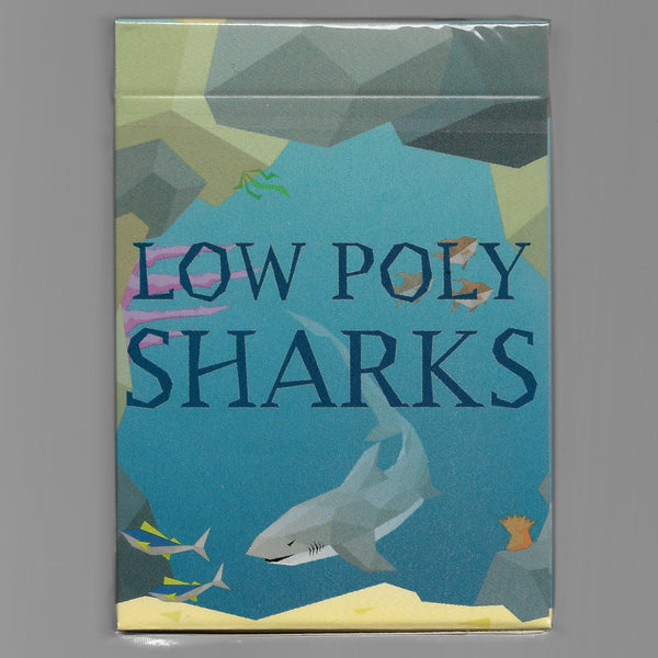 [CLEARANCE] Low Poly Sharks