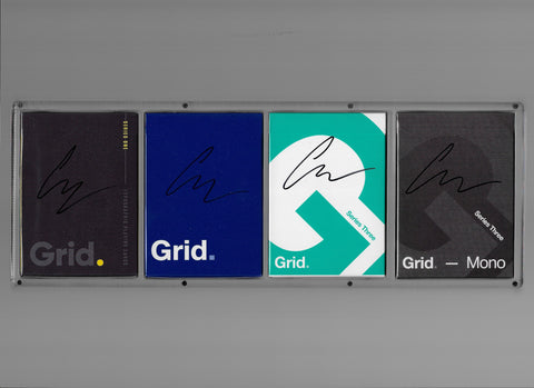 Signed Grid Set (X4 Carat Case Included)
