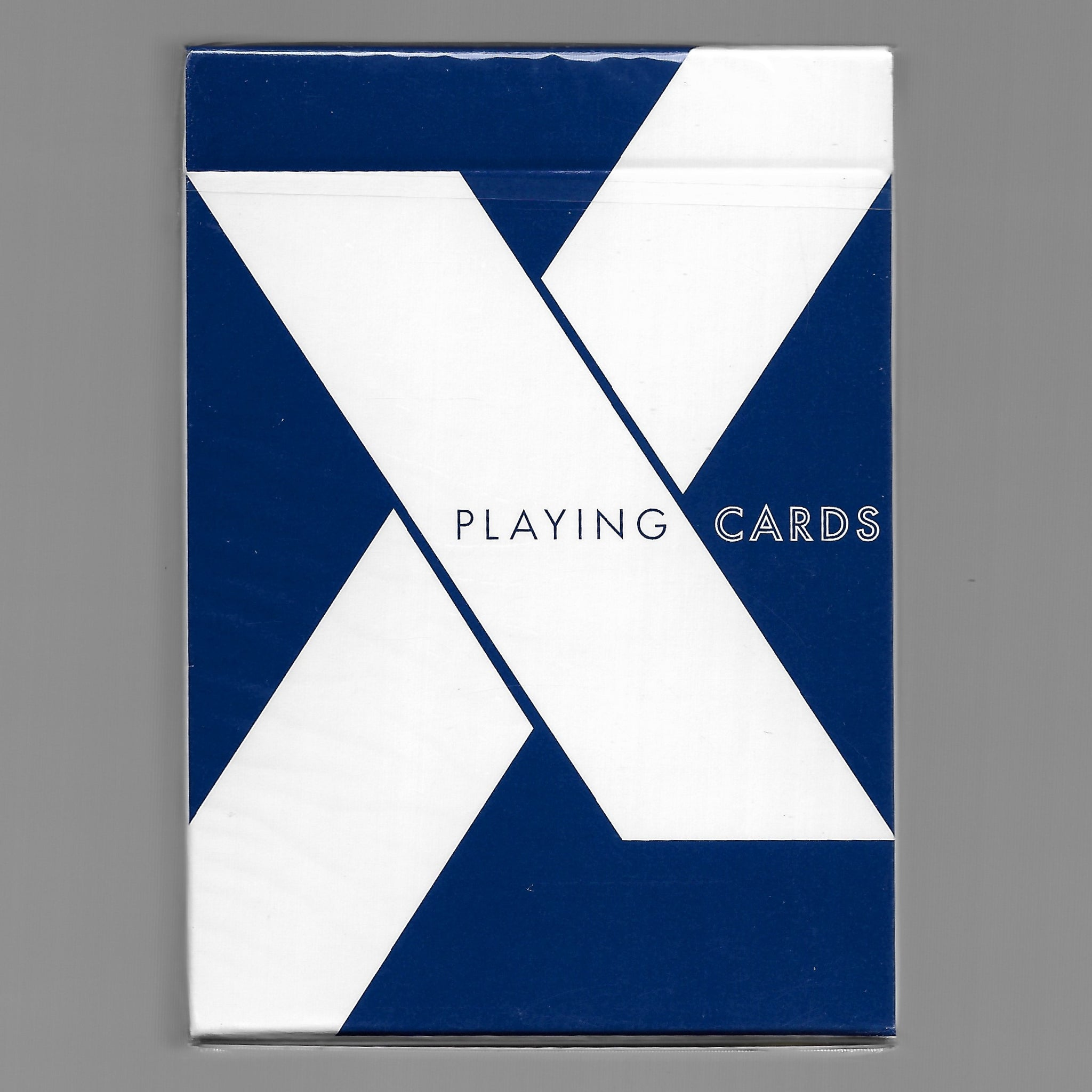 X Playing Cards (Blue)