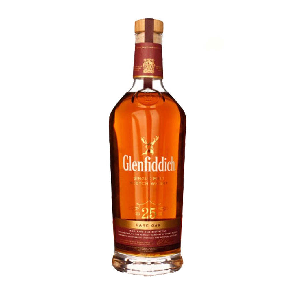 Glenfiddich 25 Years Old Rare Oak