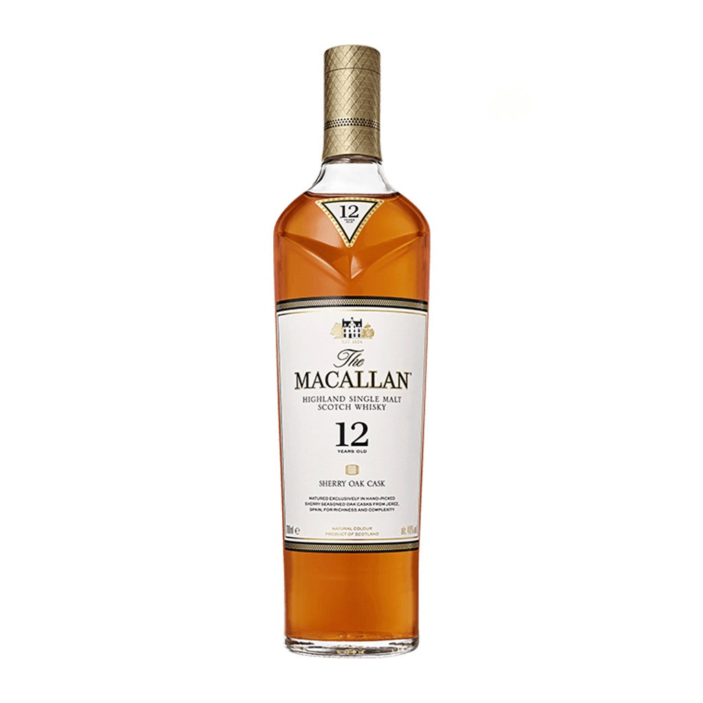 Macallan Sherry Oak 12 Anos