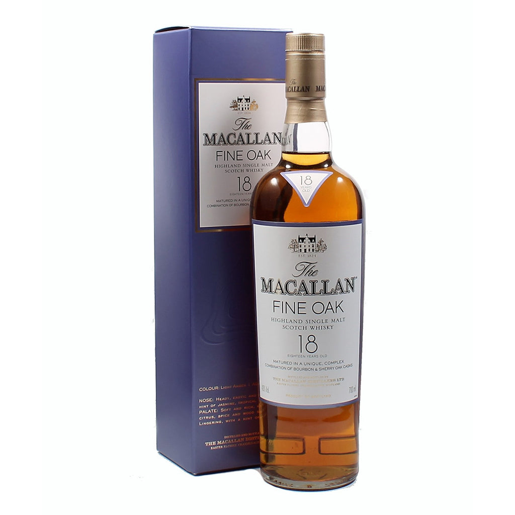 Macallan Fine Oak 18 Years