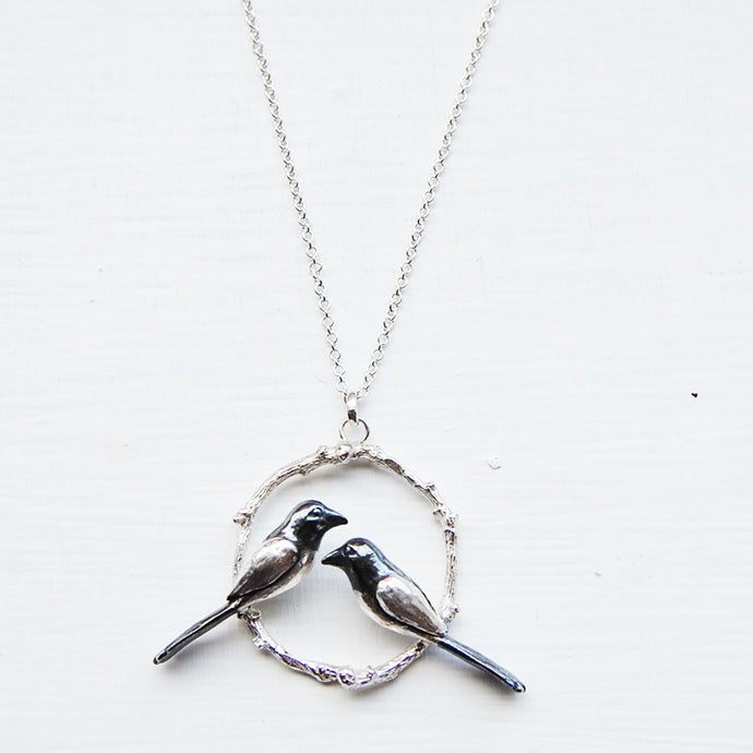 Magpies, Two for Joy Necklace