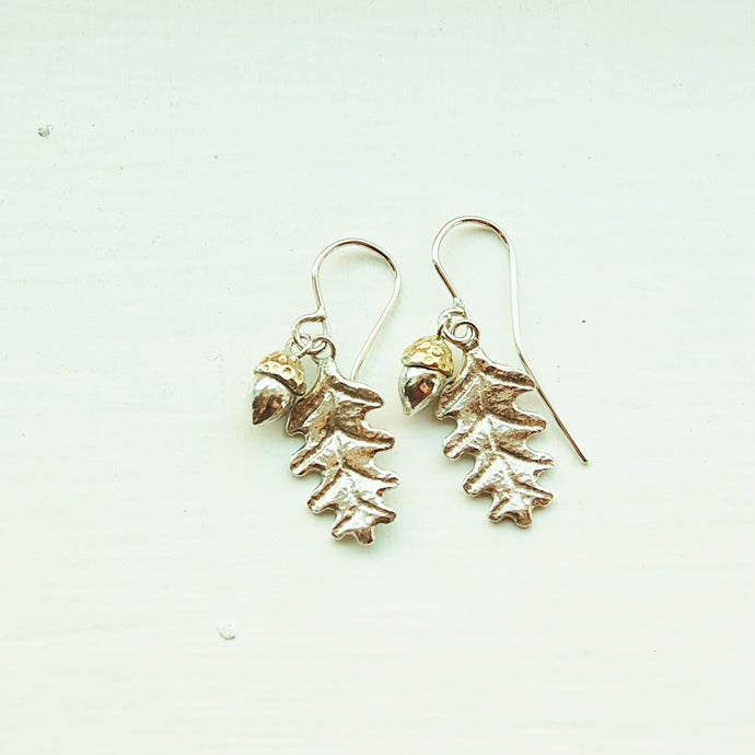 Acorn & Oak Leaf Earrings