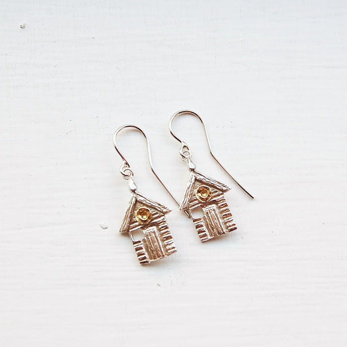 Beach Hut Earrings