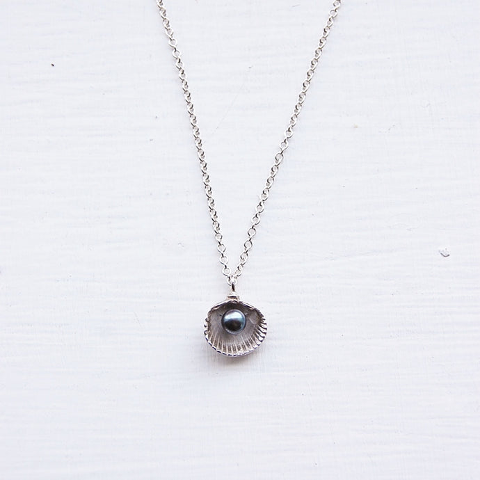 Cockle Shell & Pearl Necklace