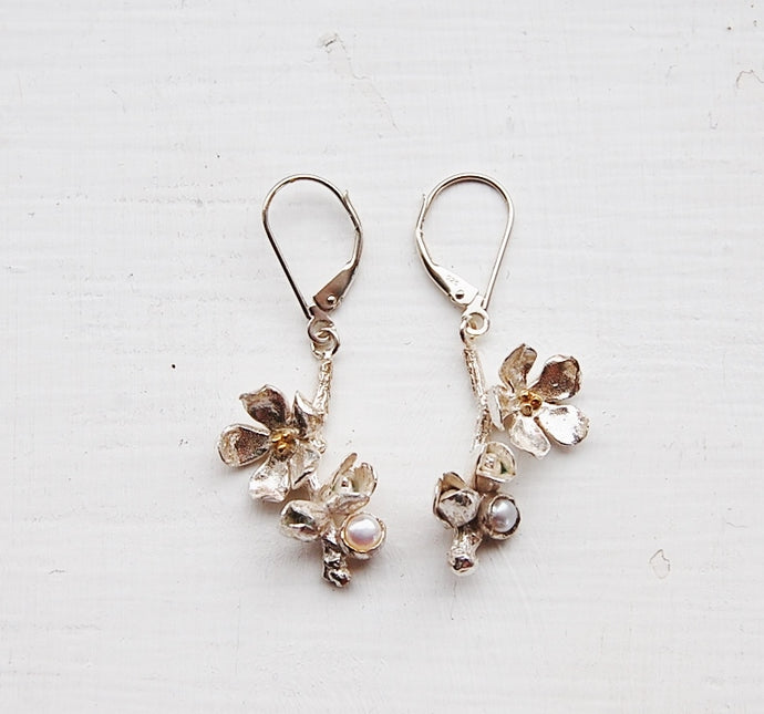 Apple Blossom Earrings
