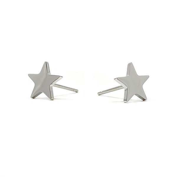 Simple Star Earrings