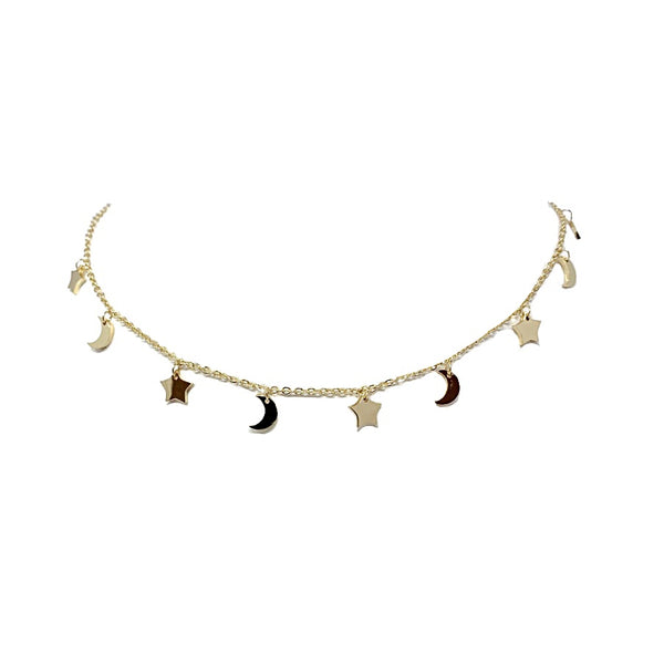 Starry Crossed Choker