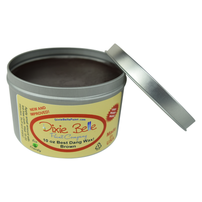 Best Dang Wax - Brown (4oz & 10oz) by Dixie Belle