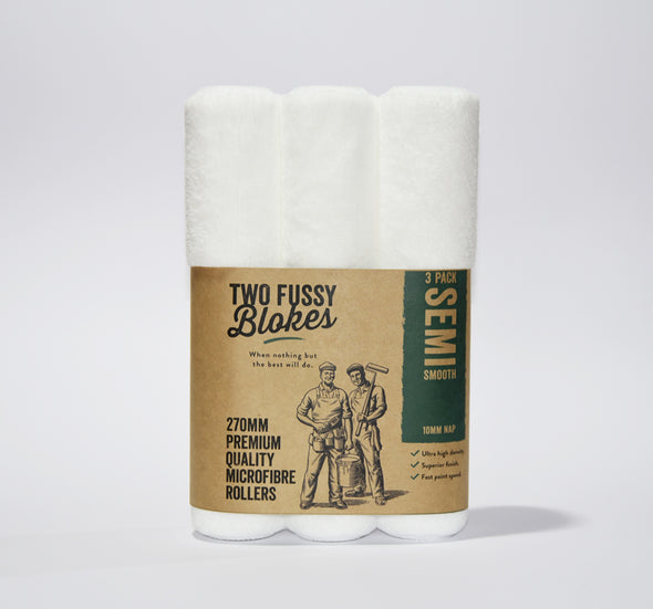 Two Fussy Blokes - SEMI SMOOTH Rollers (MICROFIBRE-10mm nap)