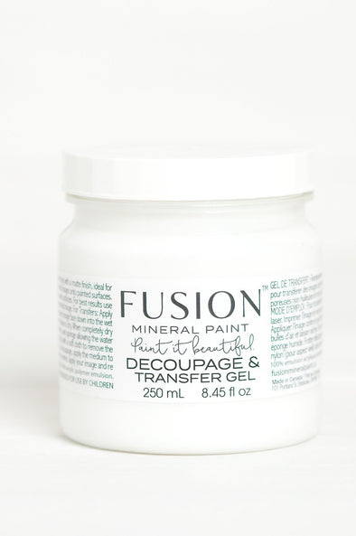 Fusion Decoupage & Transfer Gel