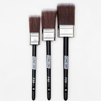 Cling-on Flat Brushes (Available in 3 sizes)