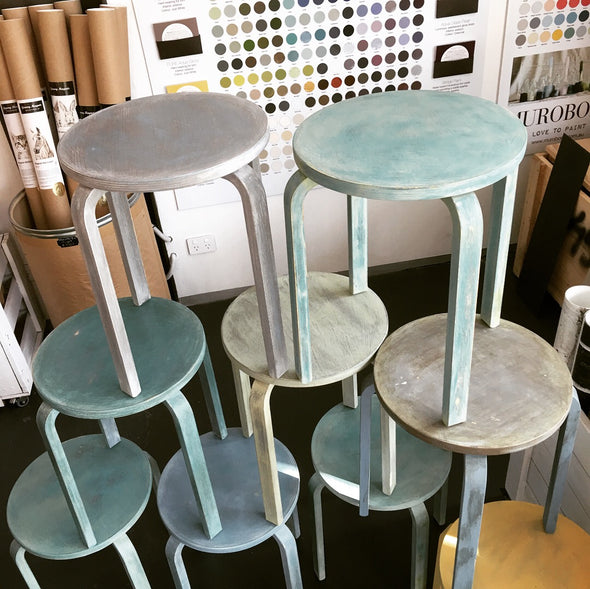 Furniture Painting & Distressing with chalk paints