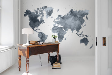 Dusky World Map