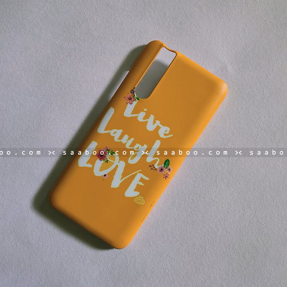 Hard Case - saaboo - Live Laugh Love Case