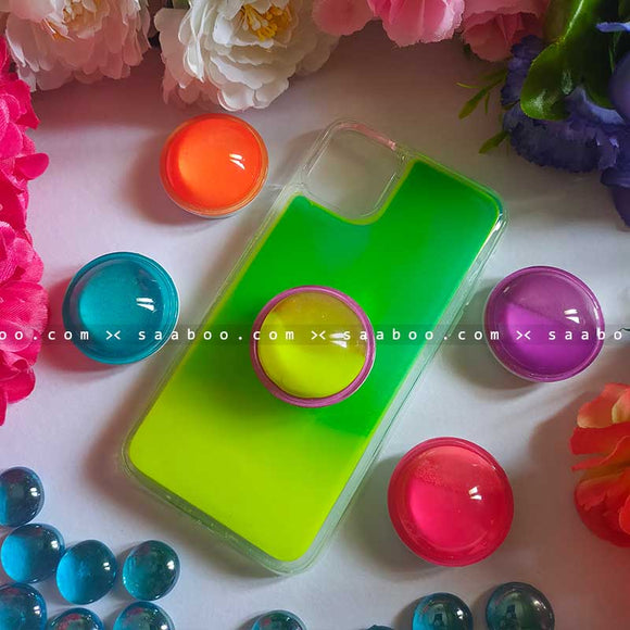 Green Neon Gripper Case