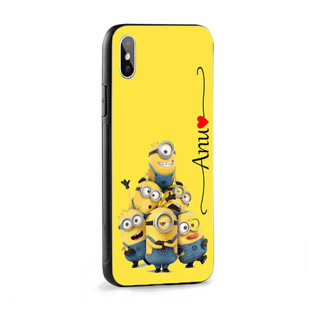 Minion Wave Name Protective Case