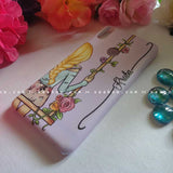 Light Hair Girl Wave Name Case