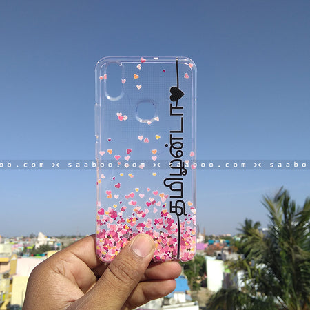 Silicone Case - saaboo - Transparent Silicone case with Different Language