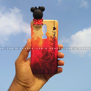 Toy Case - saaboo - Minnie Toy and Colorful Name Case