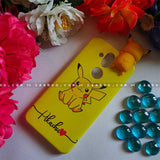 Pikachu Toy Wave Name Case